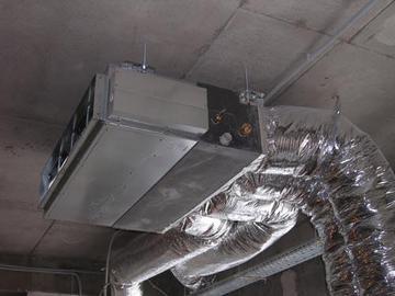 Использование кондиционеров и систем вентиляции