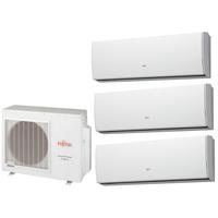 Мульти сплит система Fujitsu ASYG07LUCAx2 + ASYG12LUCA/ AOYG18LAT3 (комплект)