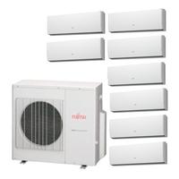 Мульти сплит система Fujitsu ASYG07LUCAх5 + ASYG09LUCAх3 + UTP-PY03Aх2/ AOYG45LAT8 (комплект)