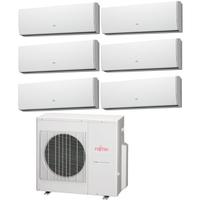 Мульти сплит система Fujitsu ASYG07LUCAх4 + ASYG09LUCA + ASYG14LUCA + UTP-PY03Aх2 + UTP-PY02A/ AOYG45LAT8 (комплект)