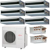 Мульти сплит система Fujitsu ARYG09LLTAх5 + ARYG14LLTA + UTP-PY03Aх2/ AOYG45LAT8 (комплект)