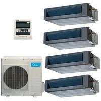 Мульти сплит система Midea MTBI-07HWFN1-Qx2+MTBI-09HWFN1-Qx2/ M4OD-28HFN1-Q (комплект)