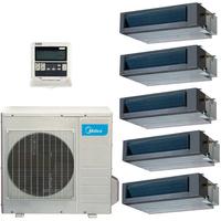 Мульти сплит система Midea MTBI-07HWFN1-Qx3+MTBI-09HWFN1-Q+MTBU-12HWFN1-Q/ M5OD-42HFN1-Q (комплект)