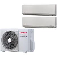Мульти сплит система Toshiba RAS-M07N3KV2-E+ RAS-B10N3KV2-E/ RAS-M14GAV-E (комплект)