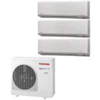Мульти сплит система Toshiba RAS-B10N3KV2-Ex3/ RAS-3M26UAV-E (комплект)