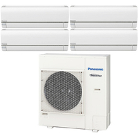 Мульти сплит система Panasonic CS-E7RKDWx3+CS-E18RKDW/CU-5E34PBD (комплект)