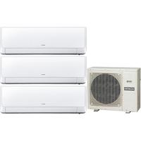 Мульти сплит система Hitachi RAK-25RXBx2+RAK-50RXB/ RAM-90NP5B (комплект)