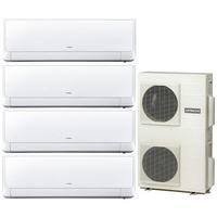 Мульти сплит система Hitachi RAK-25RXBx2+RAK-35RXBx2/ RAM-110NP6B (комплект)