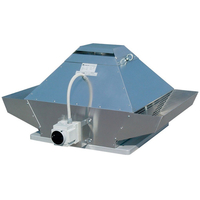 Крышный вентилятор Systemair DVG-V 355D6/F400