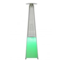 Уличный газовый инфракрасный обогреватель NeoClima 08HW-BL (c LED-подсветкой)